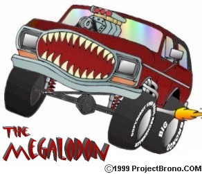 Megalondon -- An ancient shark that swam the earth's oceans millions of years ago that has returned to destroy the inferior sharks of modern times